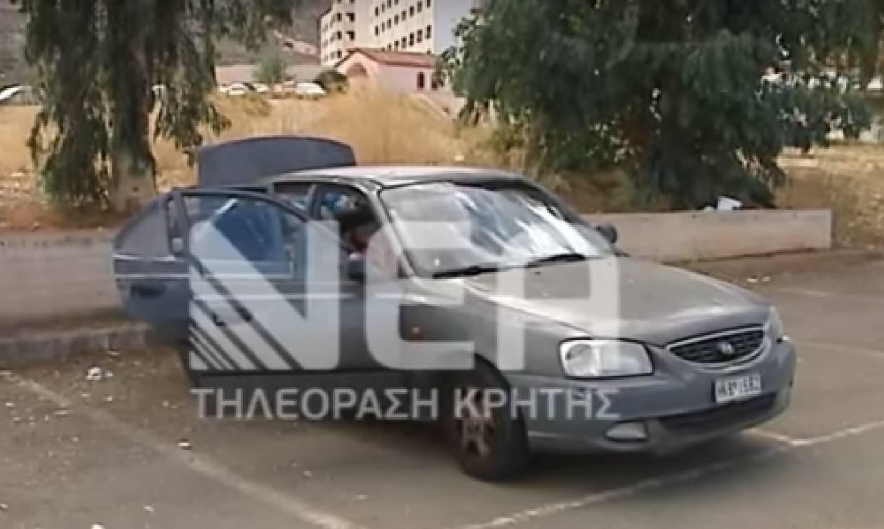 Ηράκλειο: Άνεργος ζει με την τετραμελή οικογένεια του σε αυτοκίνητο! (vid)