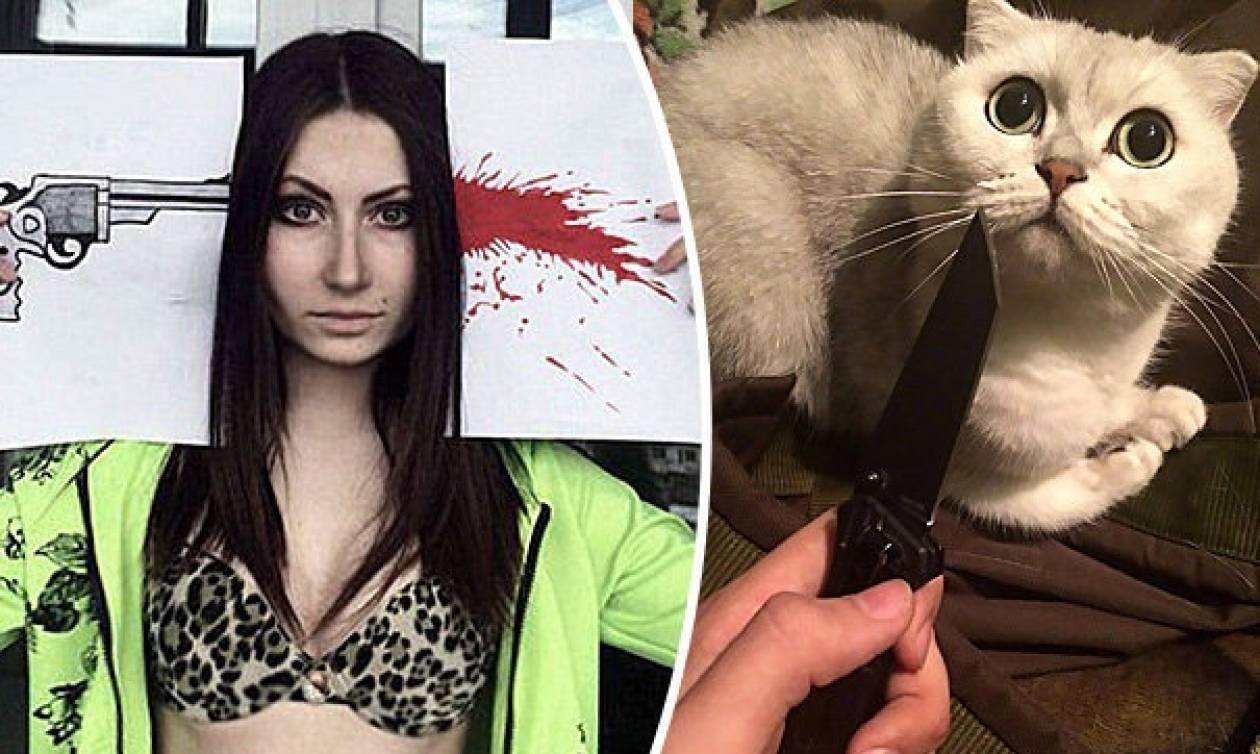 ΠΡΟΣΟΧΗ ΣΚΛΗΡΕΣ ΕΙΚΟΝΕΣ: Διεστραμμένες νεαρές βασάνιζαν ζώα τραβώντας σεξουαλικά βίντεο