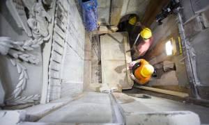 Συγκλονιστικό! Έλληνες επιστήμονες αποκάλυψαν την «ταφική πλάκα του Ιησού» (pics+video)