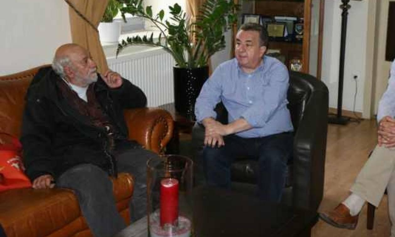Mε τον Παντελή Βούλγαρη συναντήθηκε ο Σταύρος Αρναουτάκης