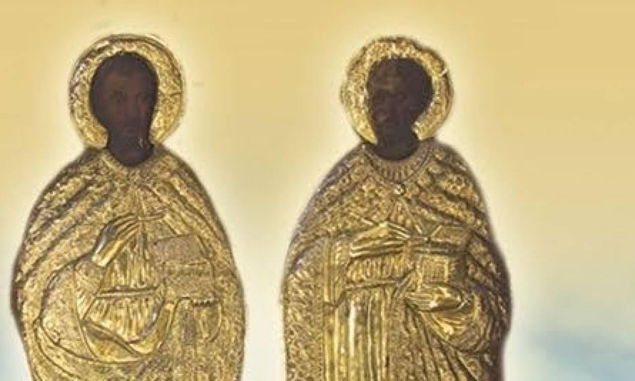 Πανηγυρίζει ο ναός Αγίων Αναργύρων του ομωνύμου Δήμου Αττικής