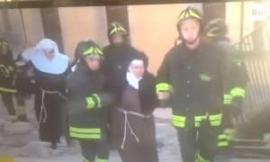 Σεισμός Ιταλία: Δείτε εικόνα από τον επίκεντρο του σεισμού