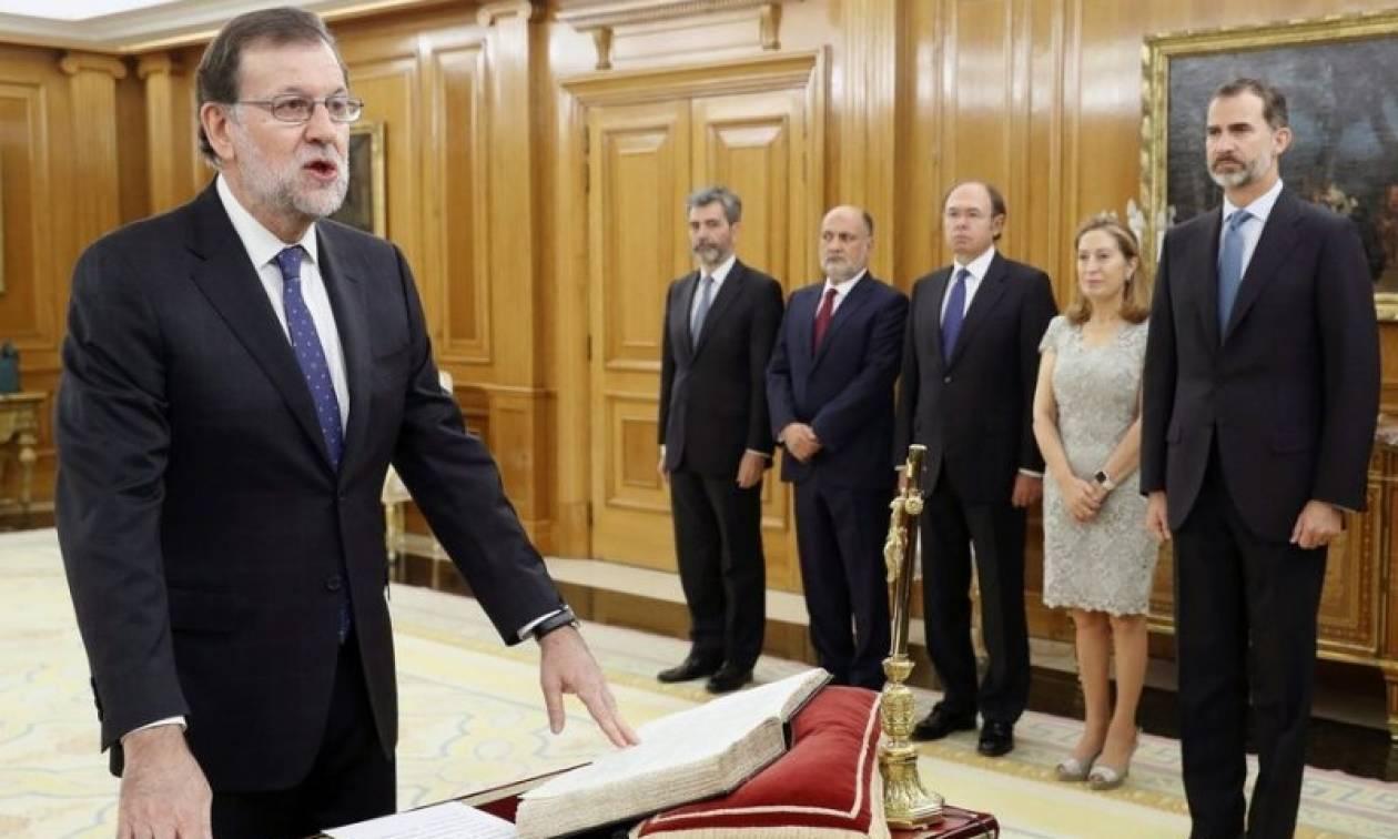 Ισπανία: Ορκίστηκε πρωθυπουργός ο Μαριάνο Ραχόι