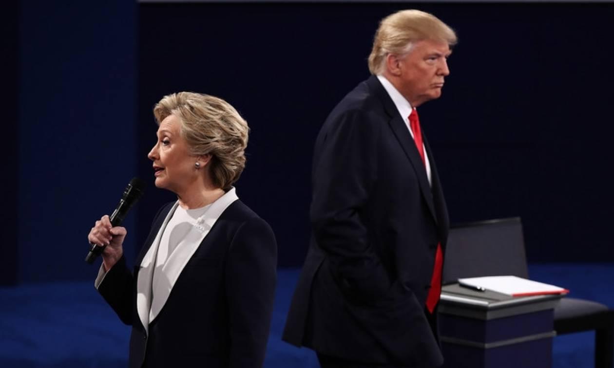 Προεδρικές εκλογές ΗΠΑ 2016: Προβάδισμα για τον Τραμπ σε νέα δημοσκόπηση