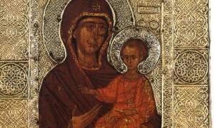 Παναγία Εσφαγμένη: Η θαυμαστή ιστορία της Αγιορείτικης εικόνας!