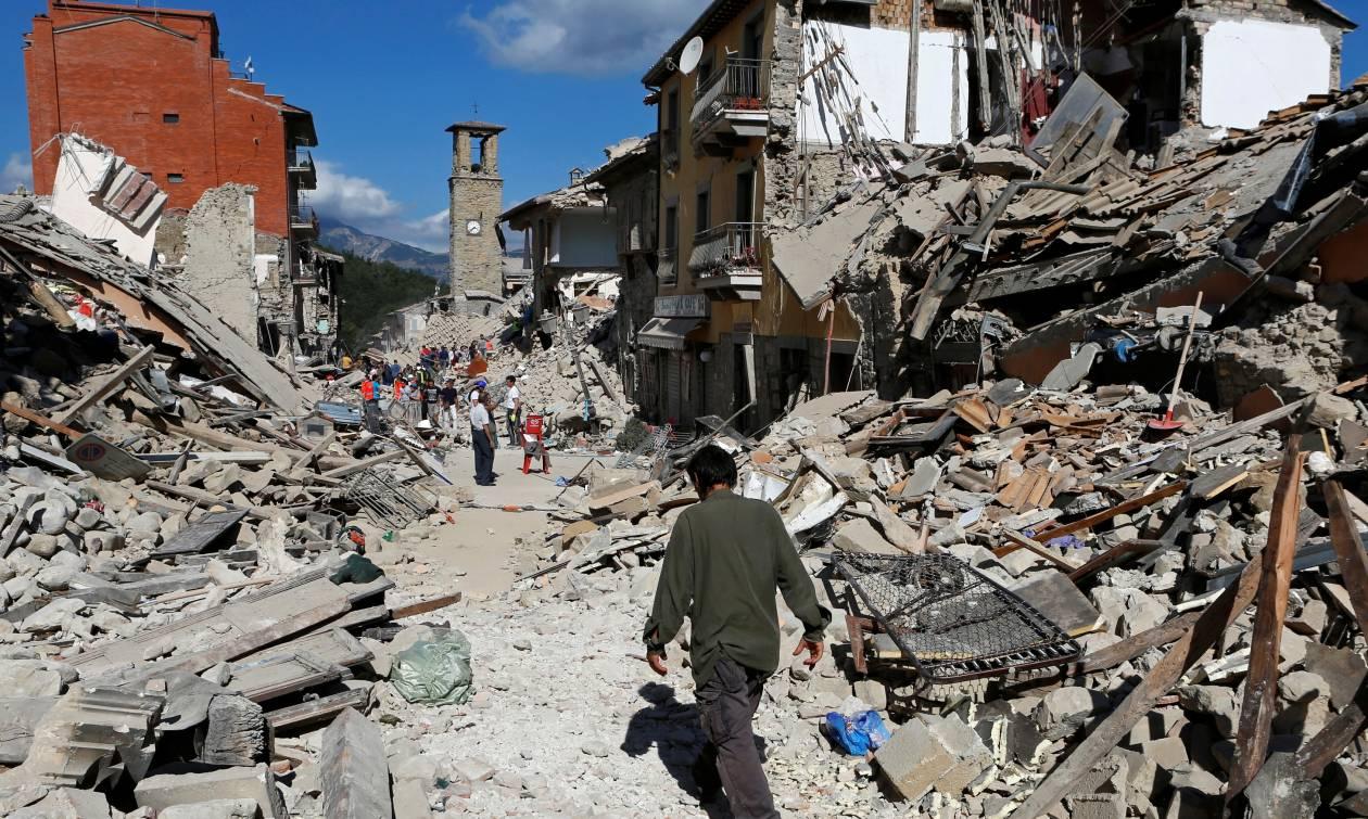 Τρέμει η γη: 22.000 σεισμικές δονήσεις συγκλόνισαν την Ιταλία μέσα σε τρεις μήνες