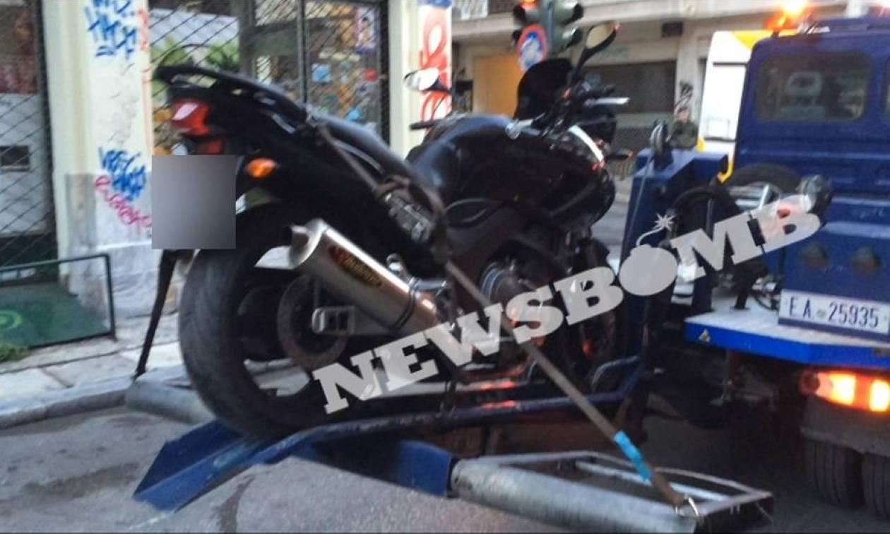 Επίθεση στη Γαλλική Πρεσβεία: Η μοτοσικλέτα δεν έχει σχέση με το «χτύπημα»