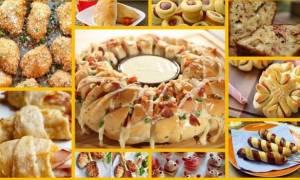 Δέκα αλμυρές συνταγές για παιδικό πάρτι