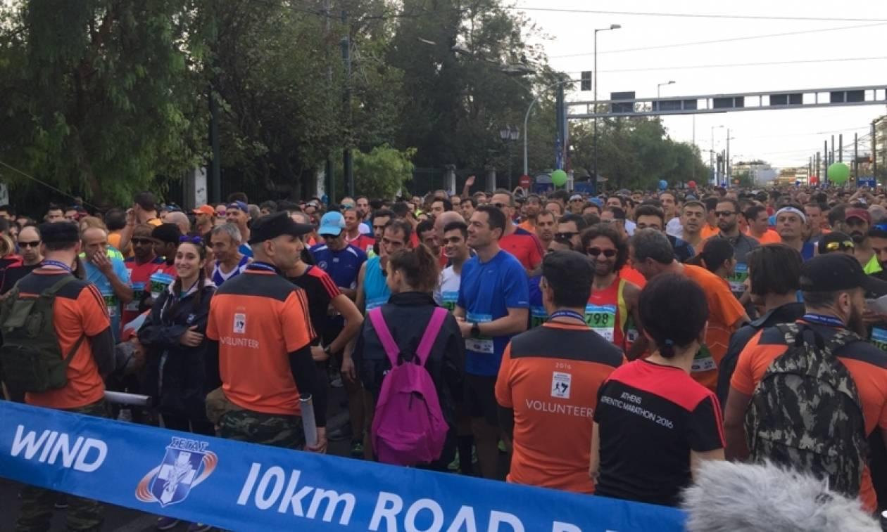 Μαραθώνιος Αθήνας 2016 LIVE: Ποιοι βουλευτές έβαλαν τα αθλητικά τους και έτρεξαν
