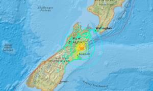 Σεισμός: 7,4 Ρίχτερ τρόμου στη Νέα Ζηλανδία