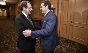 Τι θα συζητήσουν Τσίπρας - Αναστασιάδης κατά την συνάντηση τους την Τετάρτη (16/11)