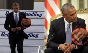 Πανικός: Ο Ομπάμα ήρθε στην Ελλάδα και εξαφανίστηκε μυστηριωδώς η… βέρα του! (pics)