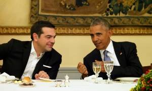 Επίσκεψη Ομπάμα στην Αθήνα - Προεδρικό Μέγαρο: Τι συνέβη όταν έκλεισαν οι κάμερες (pics+vid)