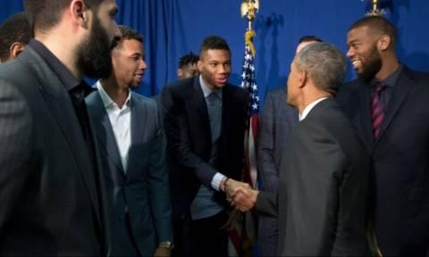 Επίσκεψη Ομπάμα: Τι είπε ο Αμερικανός πρόεδρος για τον Αντετοκούνμπο (vid)