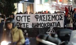 Πολυτεχνείο: Ένταση και επεισόδια στην πορεία στο Ηράκλειο (pics)