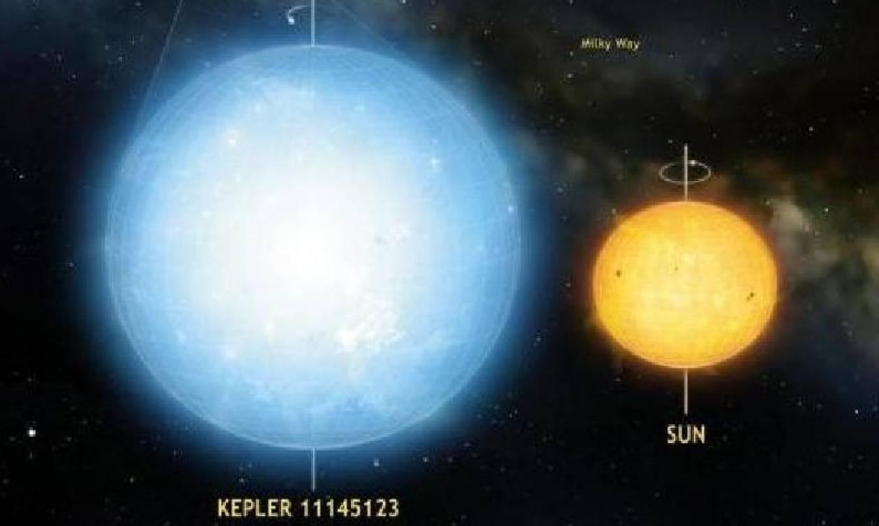 Ανακαλύφθηκε νέα σούπερ-Γη και το πιο στρογγυλό άστρο που έχει βρεθεί ποτέ (video)