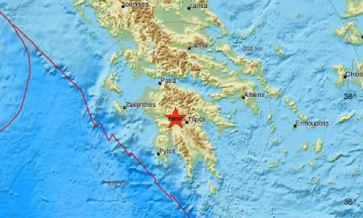 Σεισμός τώρα στη Δημητσάνα