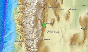 Ισχυρός σεισμός στην Αργεντινή (pics)