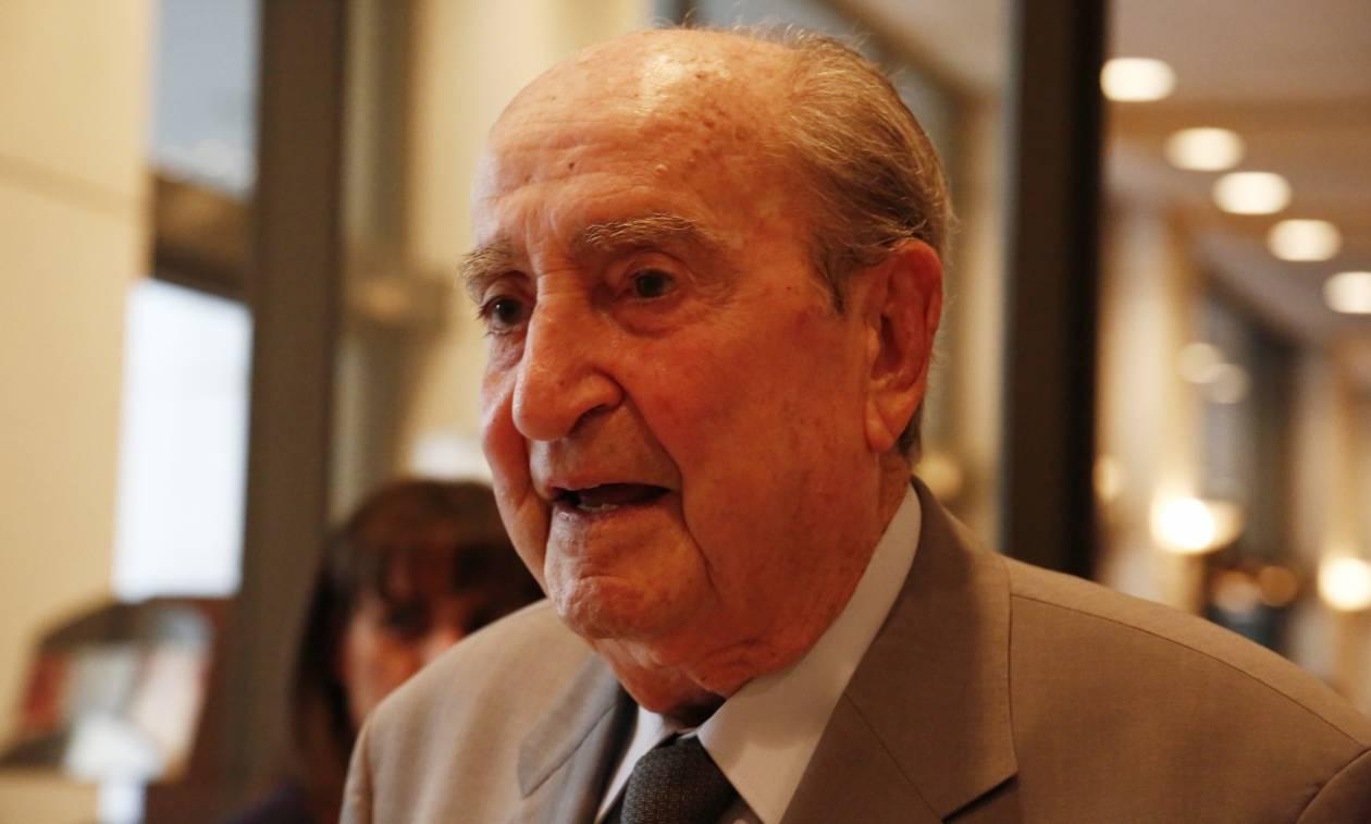 Θάνατος Στεφανόπουλου: Το συλλυπητήριο μήνυμα του Κωνσταντίνου Μητσοτάκη