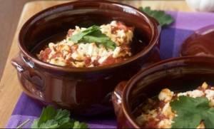 Συνταγή για μελιτζάνες με ντομάτα και φέτα