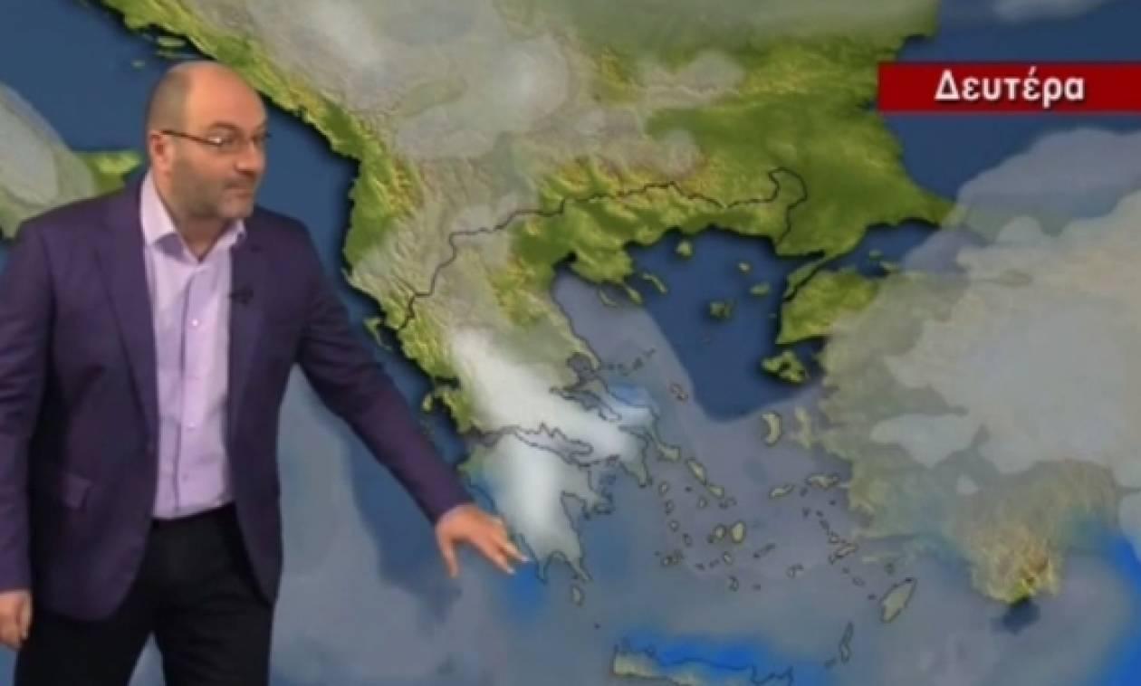 Κλείδωσε! Πού θα χιονίσει; Η πρόγνωση του καιρού από τον Σάκη Αρναούτογλου