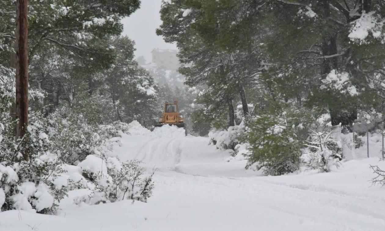 Καιρός: Νέο έκτακτο δελτίο από την ΕΜΥ! Έρχεται χιονιάς - Πότε και πού θα χιονίσει στην Αθήνα