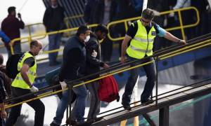 Επαναπροώθηση 17 παράτυπων μεταναστών από τη Μυτιλήνη στην Τουρκία