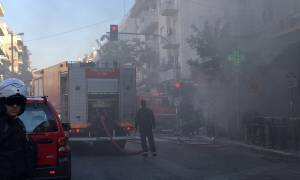 Έκρηξη στην Πλατεία Βικτωρίας: Εκτός λειτουργίας ο σταθμός του ΗΣΑΠ - Κλειστοί οι γύρω δρόμοι