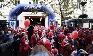 Athens Santa Run: Ποιοι δρόμοι θα είναι κλειστοί στην Αθήνα σήμερα Κυριακή 4/12