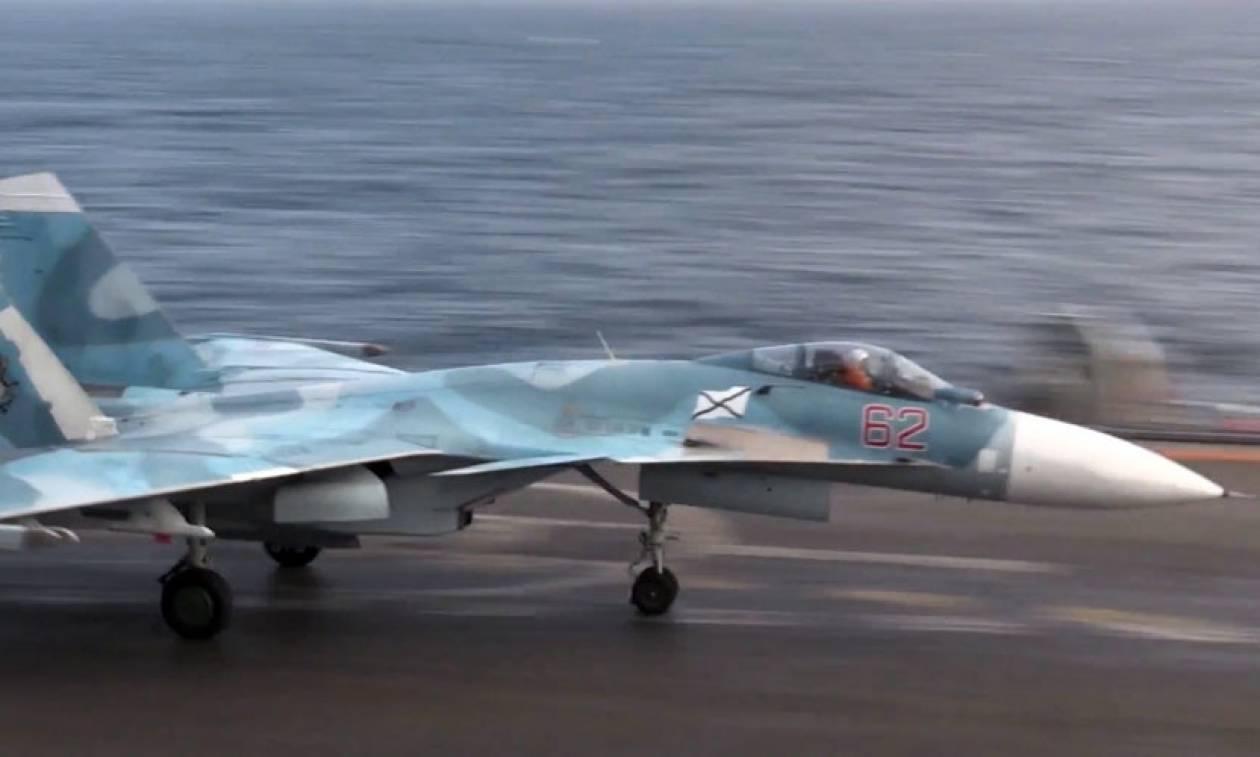 Συνετρίβη στη Μεσόγειο ρωσικό μαχητικό αεροσκάφος (Vids)