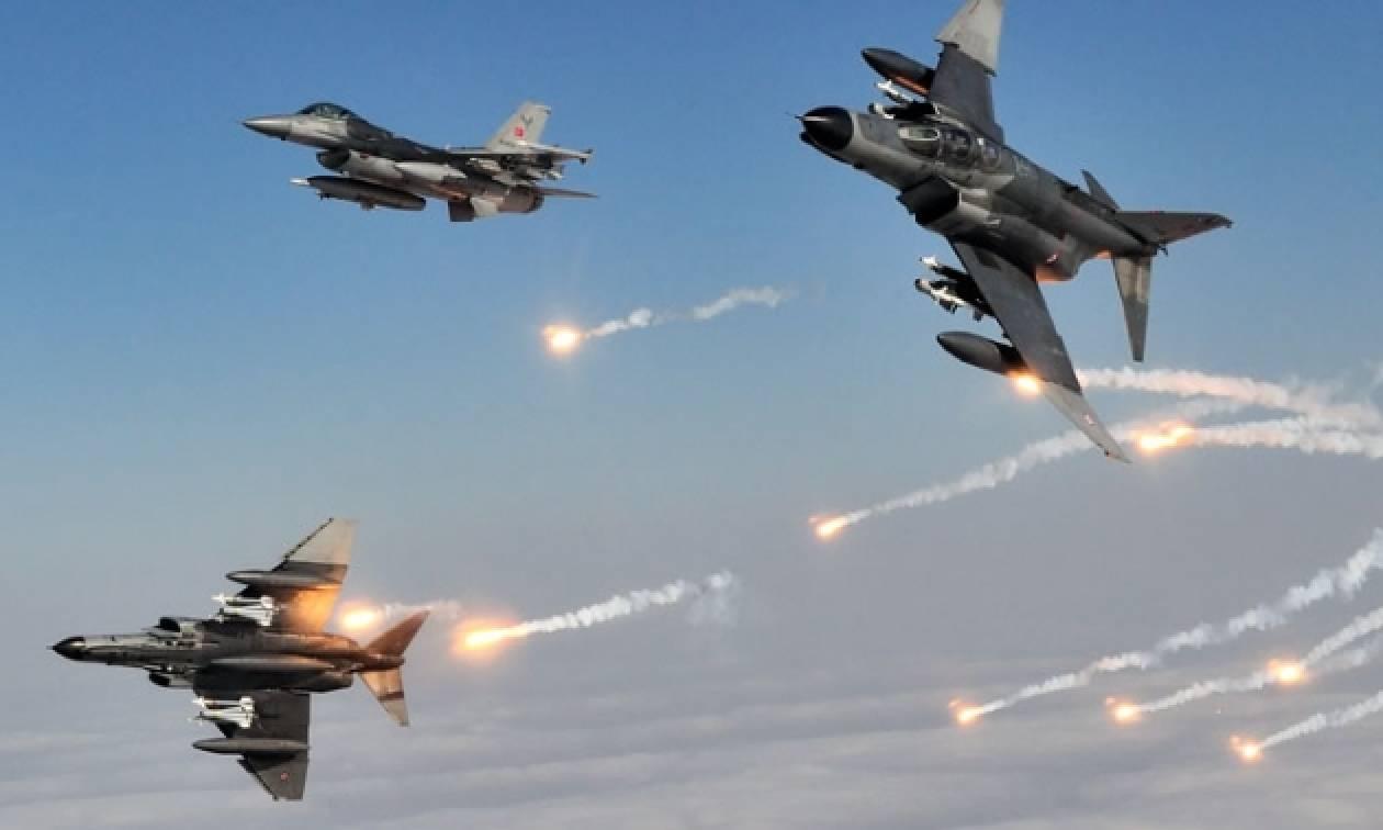 Φωτιά στο Αιγαίο: Νέες παραβιάσεις και εικονικές αερομαχίες με τουρκικά αεροσκάφη