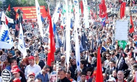 Βίαια επεισόδια και συλλήψεις σε διαδήλωση στα κατεχόμενα