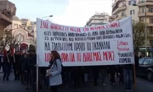 Αλέξανδρος Γρηγορόπουλος: Πορεία στην Θεσσαλονίκη για τα 8 χρόνια από τη δολοφονία του (vid)