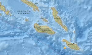 Ισχυρός σεισμός 7,7 Ρίχτερ στα νησιά του Σολομώντα