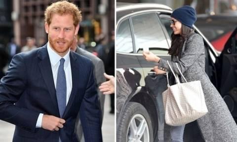 Τίποτα δεν σταματά τον Πρίγκιπα Harry από το να δει το κορίτσι του…