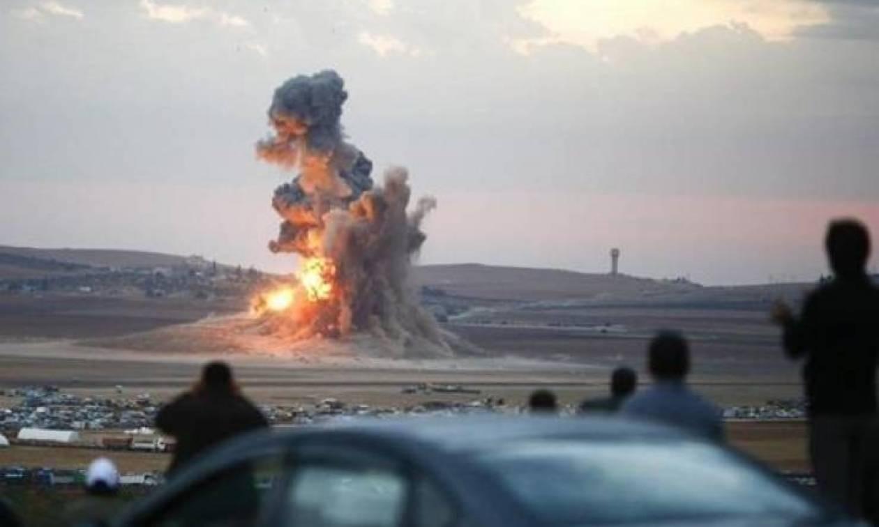 Συρία: Στάχτη 168 βυτιοφόρα του Ισλαμικού Κράτους κοντά στην Παλμύρα