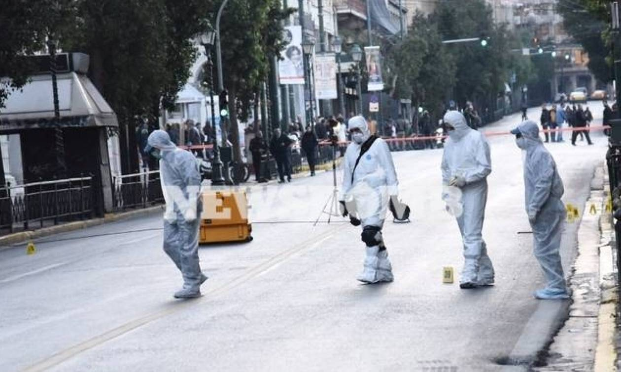 Бомбу врюкзаке подбросили кзданию Минтруда Греции