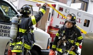 ΗΠΑ: Μεγάλη φωτιά σε εργοτάξιο του πανεπιστημίου της Νέας Υόρκης (pics+vid)