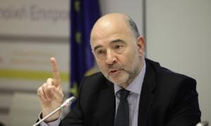 Ο Μοσκοβισί στηρίζει την Ελλάδα για το έκτακτο βοήθημα