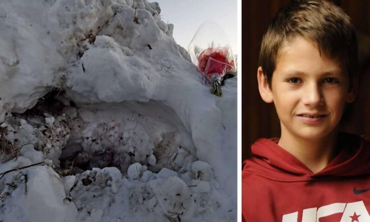 Τραγωδία: 13χρονος έχασε τη ζωή όταν καταπλακώθηκε κάτω από τόνους χιονιού (vid)