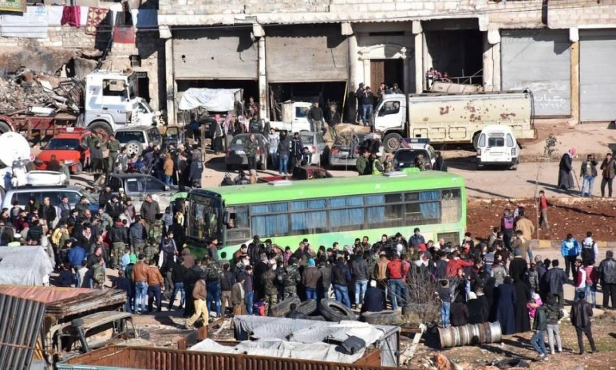 Χαλέπι: Ανεστάλη η επιχείρηση απομάκρυνσης ανταρτών και αμάχων - Ακούγονται εκρήξεις