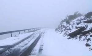 Πανέμορφη η ορεινή Κρήτη στα... λευκά (video)
