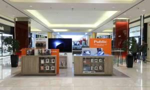 Public Pop Up Store στο Golden Hall