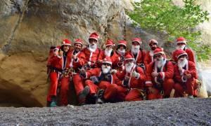 Η κατάβαση που έγινε viral: Άγιοι Βασίληδες στο φαράγγι του Καβουσίου (pics)