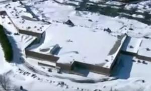 Απίστευτη χιονοθύελλα σάρωσε το Χαλέπι της Συρίας και κάλυψε τα... σημάδια του πολέμου (video)