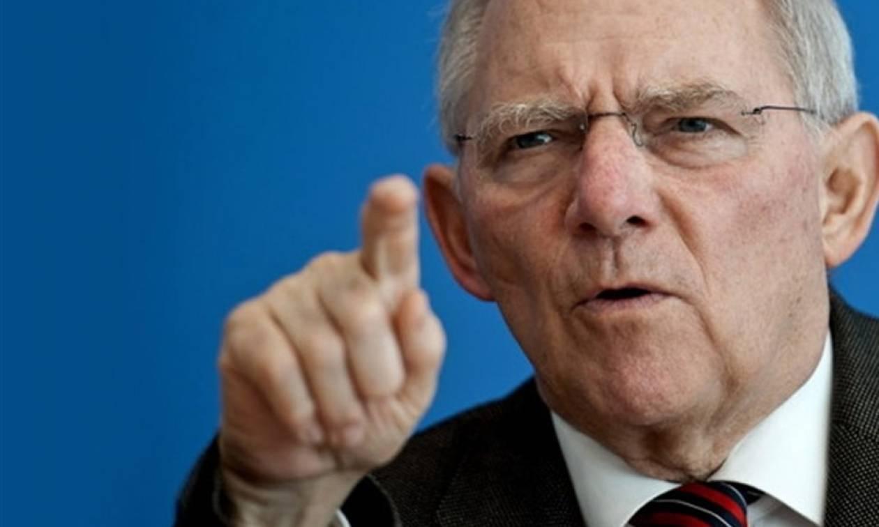 Πυρά Σόιμπλε κατά Τσίπρα: Καμία κατανόηση όταν o Έλληνας Πρωθυπουργός κατηγορεί τη Γερμανία