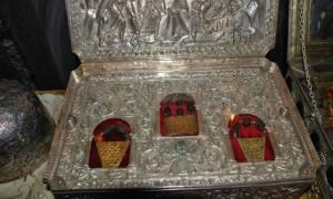 Έφτασαν τα Τίμια Δώρα για προσκύνημα στη Θεσσαλονίκη