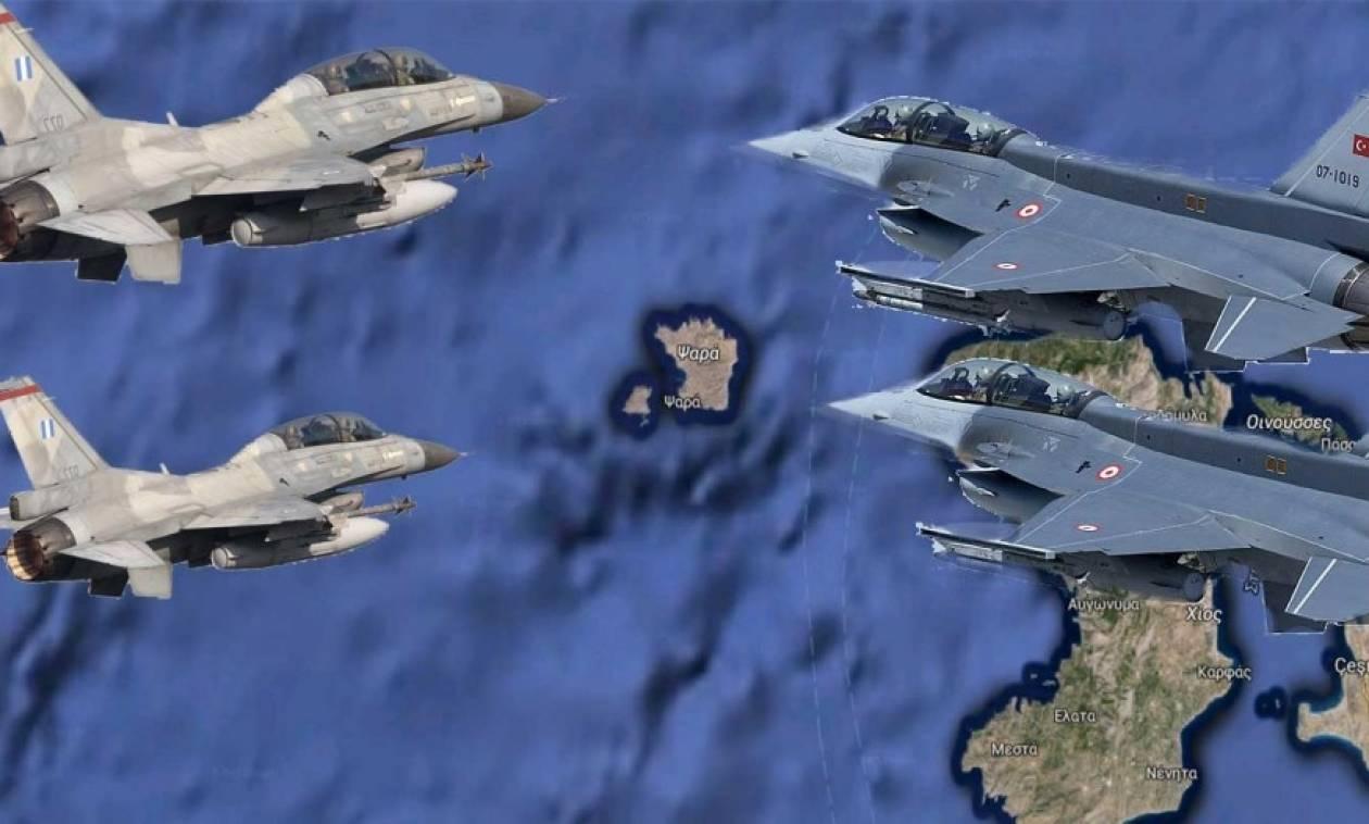 Παιχνίδια πολέμου στο Αιγαίο – Πόσο πιθανή είναι η σύρραξη με την Τουρκία;