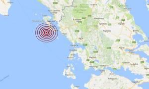 Σεισμός νοτιοδυτικά της Κέρκυρας (pics)