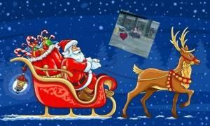 Ούτε τάρανδος , ούτε έλκηθρο-Δείτε πως κυκλοφορεί ο Άγιος Βασίλης στην Κύπρο (photo)